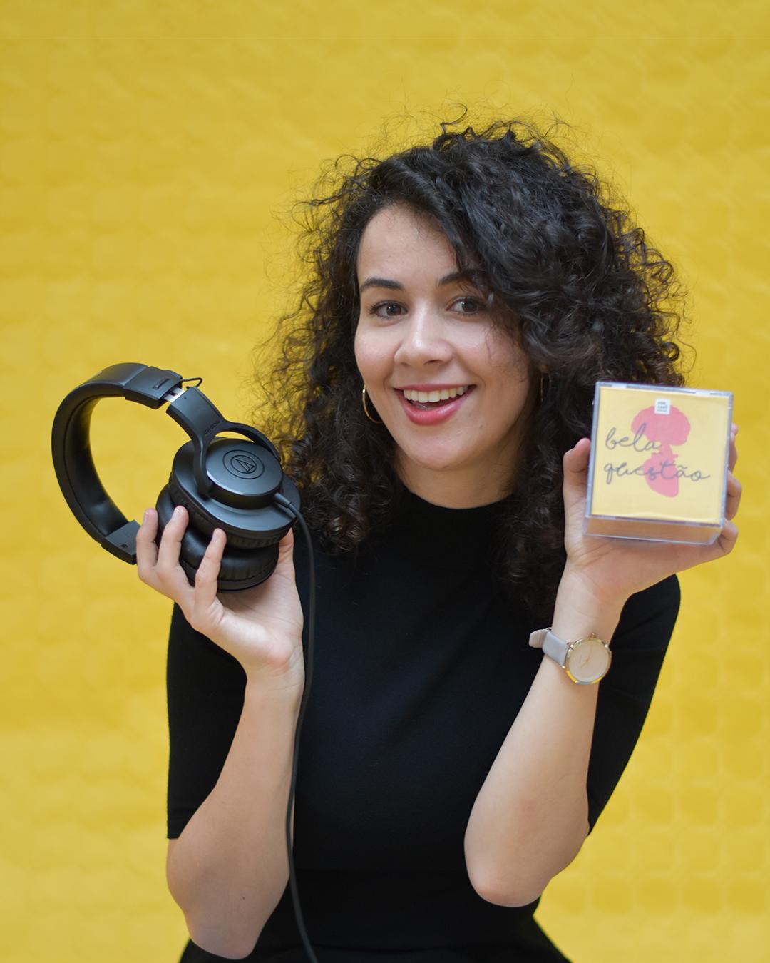 Amália Carvalho, Fundadora do Podcast Bela Questão