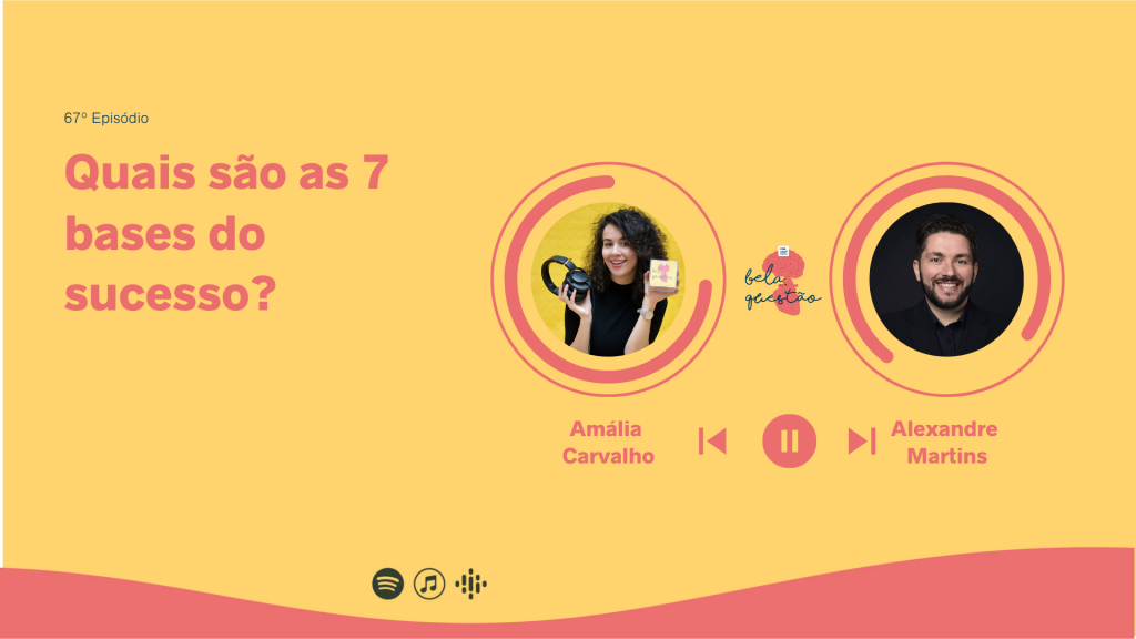 Alexandre Martins no podcast Bela Questão com Amália Carvalho